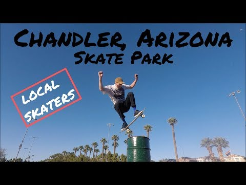 Local Skaters at Chandler Skate Park Chandler, Arizona (Phoenix, Arizona)