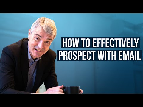 How to Effectively Prospect with Email