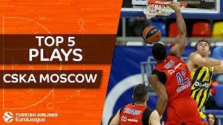 CSKA Moscow - Top 5 Plays
