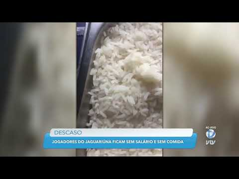 Jogadores do Jaguariúna ficam sem salário e sem comida e são resgatados pelo Sindicato de Atletas SP