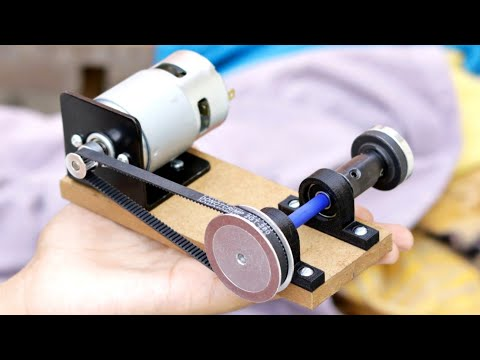 Awesome DIY idea from DC Motor