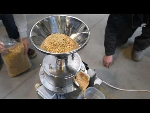 Enigma Kolloidmühlen, Nusspaste Produktion, Erdnussbutterproduktion