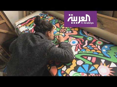 العرب اليوم - شاهد: لوحاتُ مشاهير بريشة مواهب مغربية شبابية