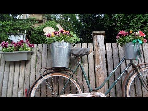 Fahrradzubehör Fahrraddeko Blumenkette Blumengirlande Fahrrad Blumen Fahrradblumenkette