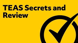 ★★ TEAS Secrets and Review - Free TEAS Exam Review ★★