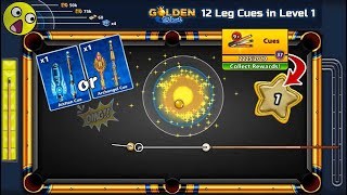 8 ball pool Legendary Cues Unlock in level 1 😨 Golden shot