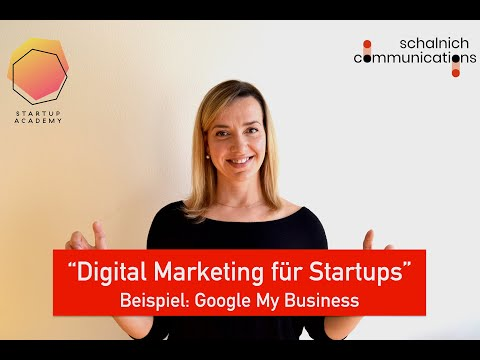 Digital Marketing für Startups - Google My Business