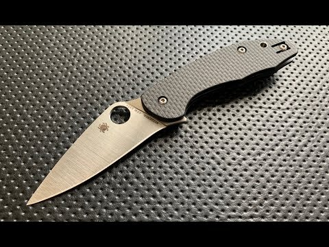 The Spyderco Mantra 3 Pocketknife: The Full Nick Shabazz Review