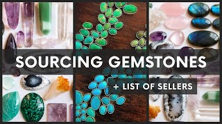BUYING GEMSTONES: Tips For Sourcing Gemstones Online; Fake Crystals, Scams, Sustainability