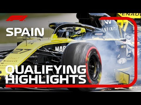 2019 Spanish Grand Prix: Qualifying Highlights