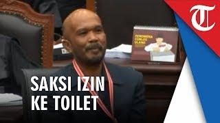 Saat Saksi dari 02 membuat Sidang Terpaksa Diskors dan Hakim Tertawa karena Permintaannya