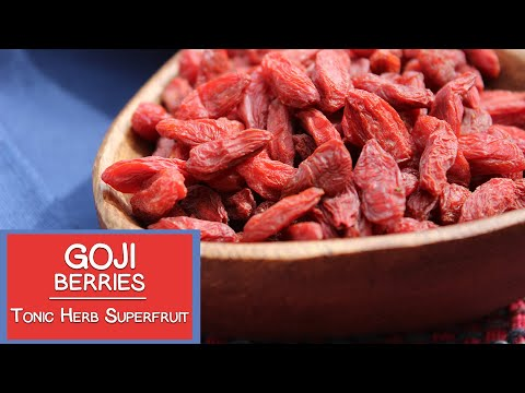 Video Goji Berries, A Tonic Herb and Superfruit Variety