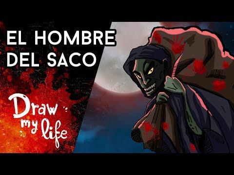 El ORIGEN REAL del HOMBRE DEL SACO - Draw My Life