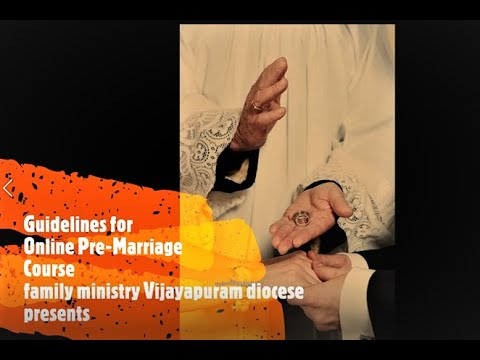 Guidelines for online pre marriage Course - YouTube