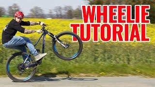 MTB: How To WHEELIE und MANUAL mit Marc Diekmann, auf dem Hinterrad fahren ganz easy!