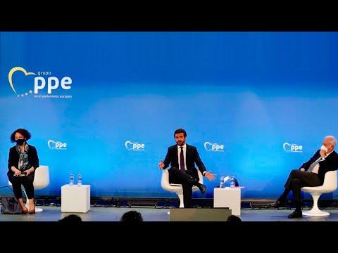Pablo Casado clausura el encuentro 'Europa : retos de la nueva era'