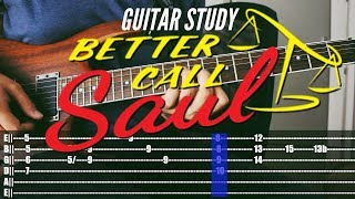 Guitar Study: Better Call Saul Theme Lesson
