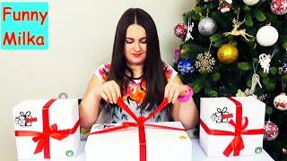 Люда получила посылку с подарками от You Box РАСПАКОВКА Обзор подарков
