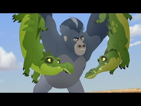 Lion Guard: Shujaa Defend! | Beshte and the Beast HD Clip