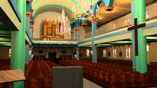 preview picture of video 'Cathédrale de Saint-Pierre & Miquelon (animation 3D)'