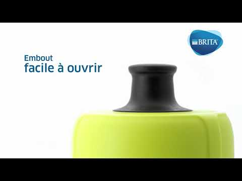 Brita Waterfilterfles Fill&Go active blauw