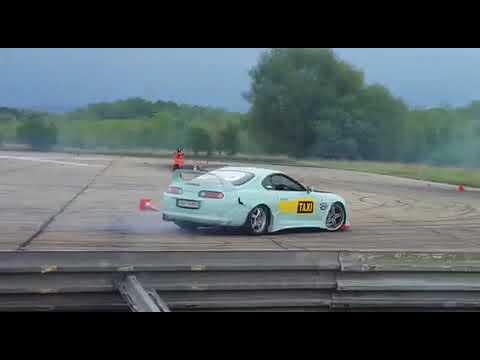 Toyota Supra fake taxi drift battle vs skyline sw performance von Kenny123