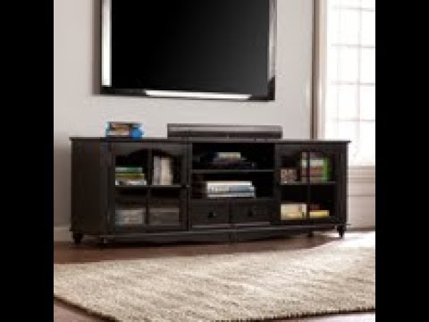 Video for Coventry 69-inch TV Console - Antique Black