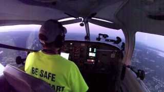Practice ILS Approach Rwy 24 at Islip NY , KISP , with LIVEATC audio .