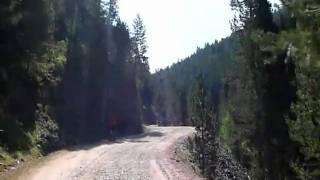 preview picture of video 'Pista Plan-Chia, la parte más facil de la subida'