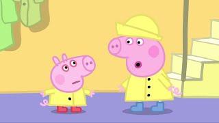 Peppa Pig Świnka Peppa po Polsku najlepsze odcinki - George siê przeziebil