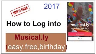 how to log into musically