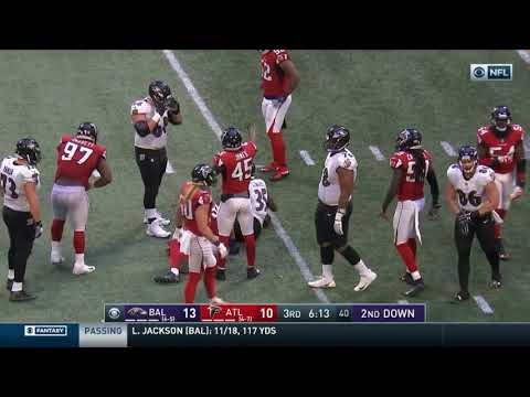 Every Gus Edwards RUSH in 2018 Week 13 vs Baltimore