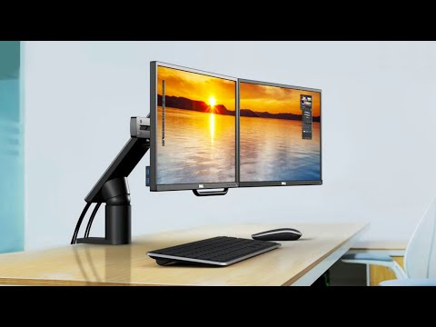 5 Best Dual Monitor Mounting Arm of 2020