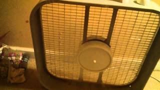 Let's see what this broken fan does