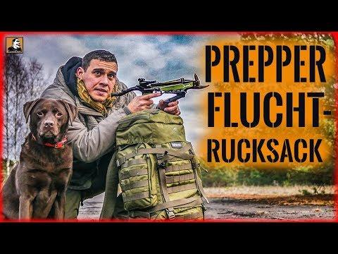 Flucht mit PREPPER NOTFALL RUCKSACK | ÜBERLEBEN im ERNSTFALL | Survival Mattin