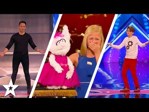 America's Got Talent 2017 Week 1 Auditions | Darci Lynne, Demian Aditya and More!! (видео)