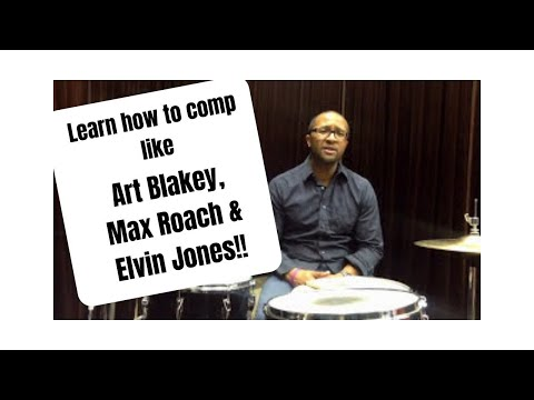 Download Jazz Drummer Q-Tip of the Week: Comp like Art Blakey, Elvin Jones and Max Roach! Mp4 HD Video and MP3