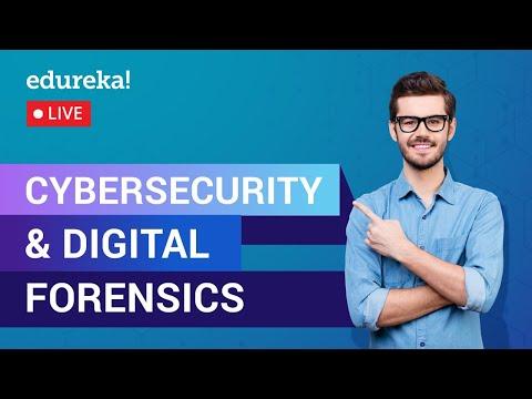 Cybersecurity & Digital Forensics Tutorial | Cybersecurity Training ...