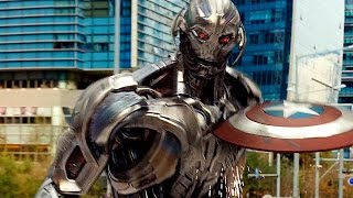 Captain America Vs Ultron  Fight Scene  Avengers Age Of Ultron  Movie CLIP HD