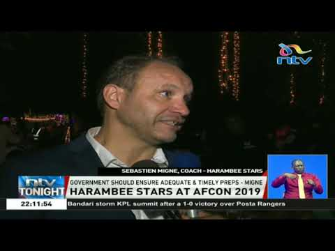 Coach Migne asks Kenyans to moderate AFCON expectations