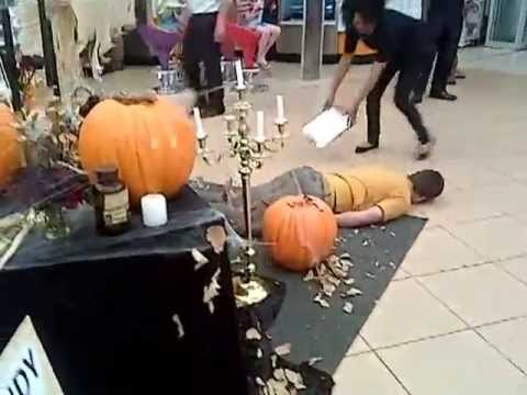 Halloween Prank Backfires