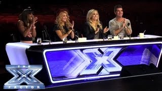 The Top 10 Over 25s Are Revealed - THE X FACTOR USA 2013