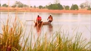 A typical fishing trip and catch in Golinga Dam (Ghana)