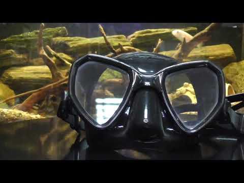 Маска для подводной охоты Salvimar Morpheus Video #1