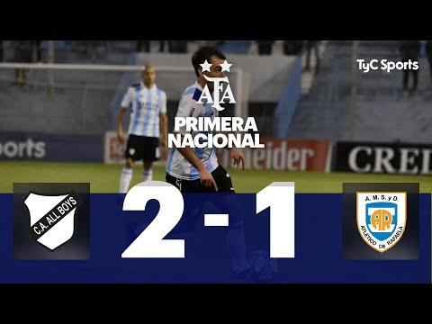 All Boys 2 VS. Atlético de Rafaela 1  | Fecha 6 | Primera Nacional 2019/2020