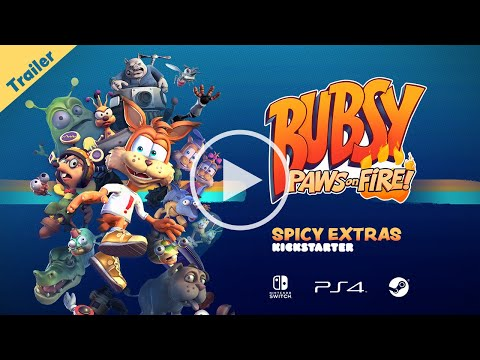 Bubsy: Paws on Fire! Kickstarter Trailer thumbnail