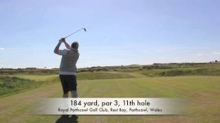 preview picture of video 'Royal Porthcawl Golf Club'