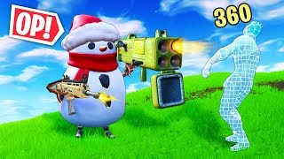 THE POWER OF SNOWMAN!!! - Fortnite Funny WTF Fails and Daily Best Moments Ep. 887