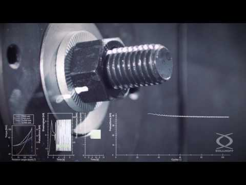 RIPP LOCK® washer and RIPP LOCK® nut in Junker vibration test according to DIN 65151