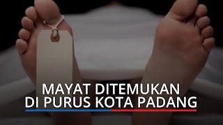 Mayat Ditemukan di Purus Kota Padang, Korban Pakai Kain Sarung